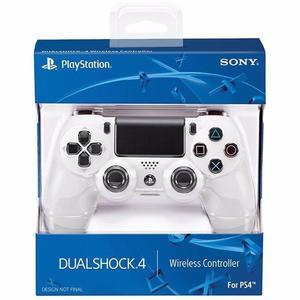 Joystick Dualshock 4 V2 Blanco Glaciar nuevo en caja.