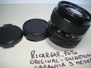 Lente Canon Fd  Nex Nikon Micro 4/3