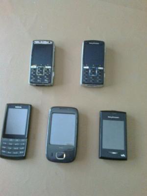 Lote de celulares $500