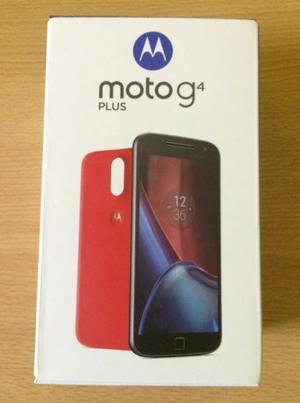 Motorola MOTO G4 PLUS + FUNDA Y VIDRIO