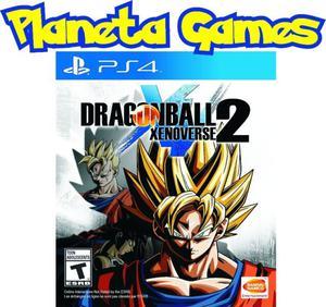 Dragon Ball Xenoverse 2 Playstation Ps4 Fisicos Caja Sellada