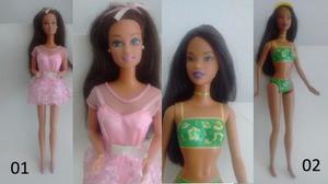 Lote De Muñecas Barbie (mattel Original). Excelente Estado