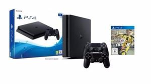 Playstation 4 slim 500 gb 2 joysticks fifa 17