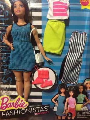 Saldo Barbie Fashionistas Curvy