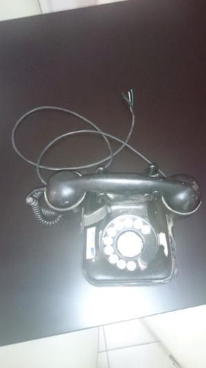 Telefono negro de vaquelita antiguo