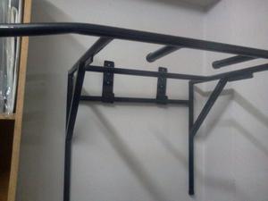 barra fija doble paralelas y dorsales