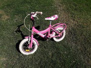 vendo bicicleta para nena rodado 12