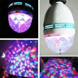 Lámpara de Led Giratoria Bola Mágica