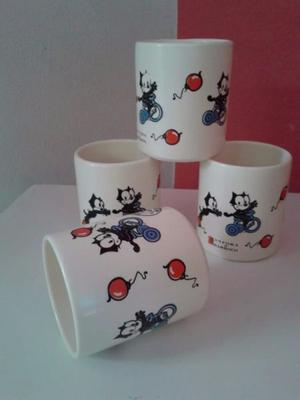 Tazas Ceramica Gato Felix