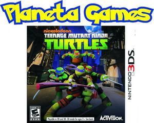 Teenage Mutant Ninja Turtles Nintendo 3ds Nuevos Caja