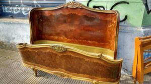 Cama antigua madera posot class - Cama antigua de madera ...