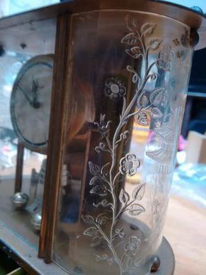 Antiguo Reloj De Mesa Alemán