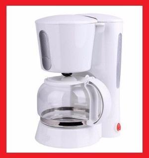Cafetera filtro permanente lavable capacidad 12 pocillos.