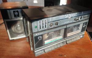 RADIO CASETE DOBLE SONY LA PLATA