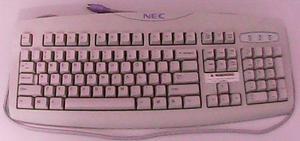 teclado marca nec modelo kb-