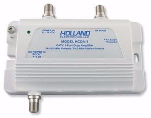 Amplificador De Señal Hcda-1frag Holland P/ Tv Hd 1 Ghz