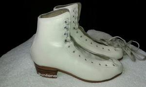 Botas cuero patinaje artistico Puntana