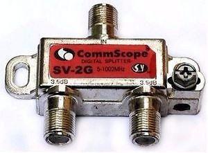 Derivador Divisor Splitter Commscope 2 Vias mhz