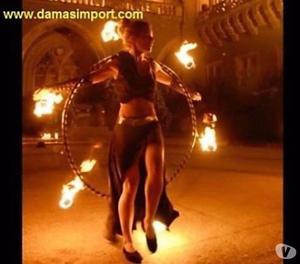 Hula Hula de Fuego desmontable! mechas de kevlar.