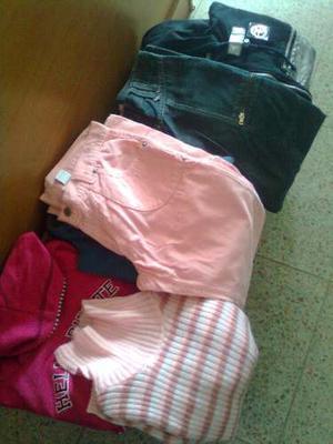 Lote Ropa Nena Talle 16(pantalones,buzos,campera)