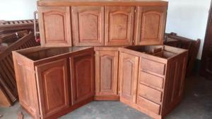 Muebles de algarrobo en general!
