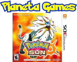 Pokemon Sun Nintendo 3ds Nuevos Caja Cerrada