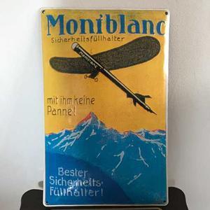Publicidad Mont Blanc Antigua.