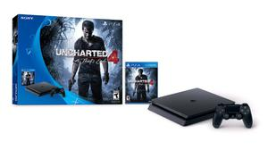 Sony playstation 4 ps4 slim 500 gb uncharted 4