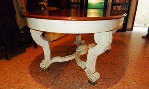 Vendo mesa oval Luis XV