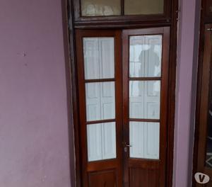 Vendo puertas antiguas de cedro con banderola excelentes!!