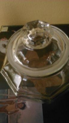 frasco de vidrio 130 $ caballito