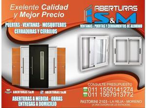 FABRICA DE ABERTURAS - PUERTAS - VENTANAS - MOSQUITEROS DE
