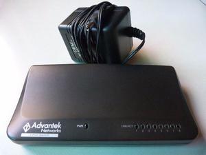 Switch 8 Puertos Advantek Networks ANS-08P