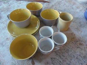 Tazas de te y café discontinuos