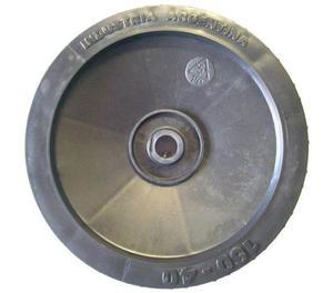 rueda de plástico ø160