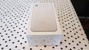 Iphone 7 de 32gb silver completo en caja