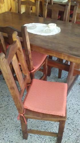 Mesa Y Sillas Para Quincho