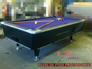 Mesa de Pool Profesional 8 Pies. Accesorios Completos.