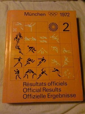 Munchen  Tomo 2 Official Results Juegos Olimpicos