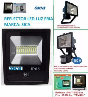 REFLECTOR PROYECTOR DE LED Y REFLECTOR PROYECTOR DE LAMPARAS