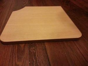 base de madera 37 x 37 x 2 cm