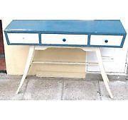 consola mini escritorio ò peinador de diseño retro vintage