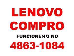 COMPRO NOTEBOOKS NETBOOKS LENOVO FUNCIONEN O NO