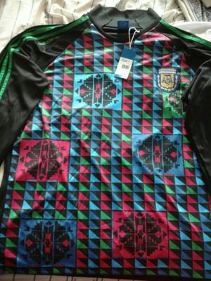 Camiseta Adidas Originals, arquero Italia '90. Nueva, talle