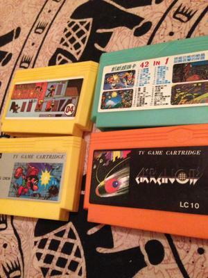 Cartuchos juegos de family lote x12