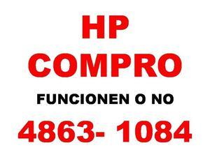 HOY COMPRO NOTEBOOKS NETBOOKS HP FUNCIONEN O NO