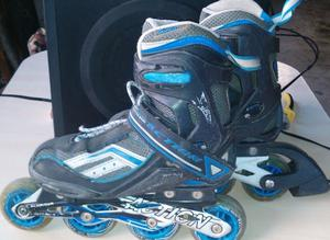PATINES ROLLERS ACTION ALUMINUM, USADOS