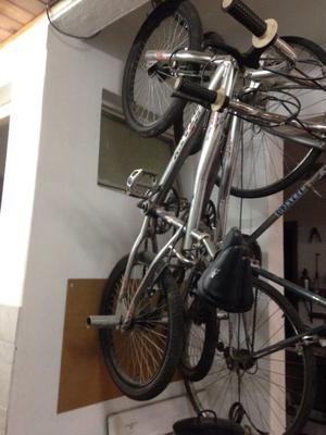 Vendo dos bicicletas cromadas.