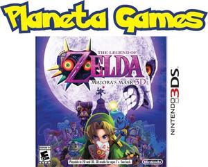 Zelda Majora's Mask New Nintendo 3ds Xl Nuevos Caja Sellada