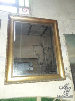 Marco con espejo biselado estilo frances posot class for Espejo con marco biselado